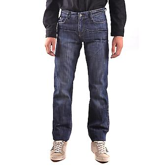 John Richmond Ezbc082056 Men's Blue Cotton Jeans