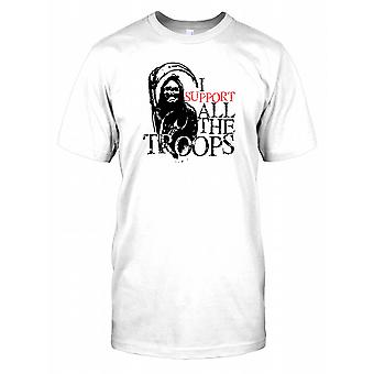 Grim Reaper - apoio todas as tropas Mens T-Shirt