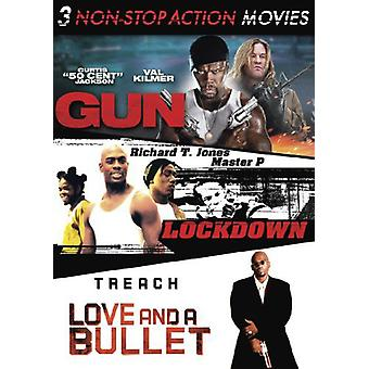 Non-Stop Action Triple Feature [DVD] USA import