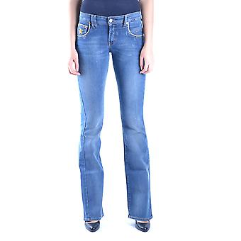 John Galliano Ezbc164054 Women's Blue Denim Jeans