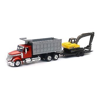 1/43 internationalen Lonestar Dump Truck W / Bagger