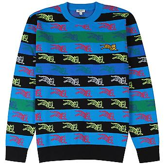 Kenzo leaping Tiger strippet jumper