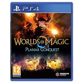 Worlds of Magic Planar Conquest(PS4) - New