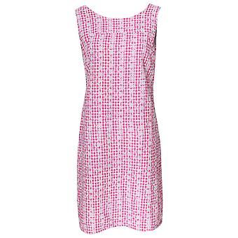 Alice Collins Pink bestickte Ärmellose Sonnenkleidung
