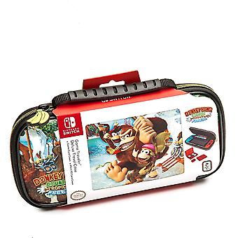 Caso de viaje con licencia oficial de Donkey Kong con licencia de Nintendo Switch