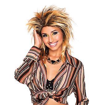 Bristol Novelty Womens/Ladies Foxy Rocker Wig
