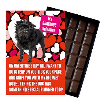 Affenpinscher Gift for Valentines Day Presents For Dog Lovers Boxed Chocolate