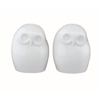 BIA Owl Shaped Salt and Pepper Shakers