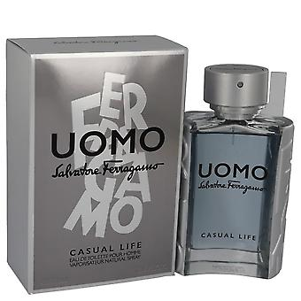 Salvatore ferragamo uomo casual life eau de toilette spray von salvatore ferragamo 540735 100 ml