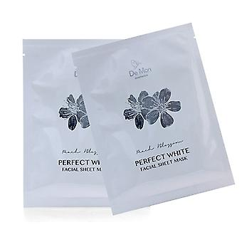 DeMon Perfect White Facial Sheet Mask 3x25ml/0.8oz