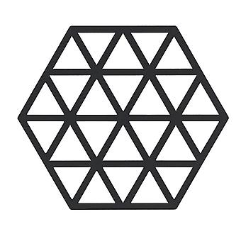 Zone fekete háromszögek trivet
