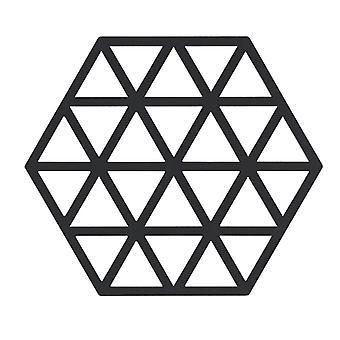 Trivet s černými trojúhelníky
