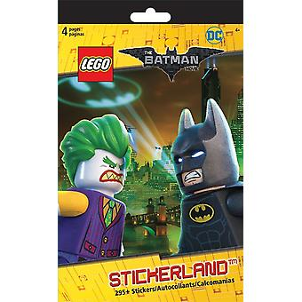 Stickerland Pad - Lego Batman - 4 pages Toys Gifts Papery New st5290