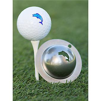 Tin Cup Golf Ball Marking System Angler