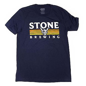 Stone Brewing Paramount Men's Navy Blue Tee Shirt