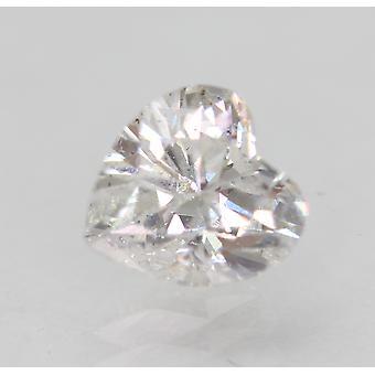 Zertifiziert 1.02 Karat D VS2 Heart Enhanced Natural Loose Diamond 6.43x6.08mm 2VG