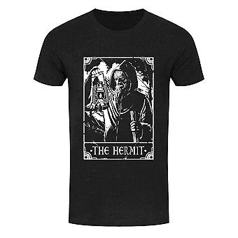 Deadly Tarot Mens The Hermit T Shirt