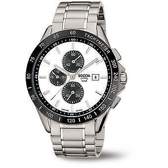 Boccia Titanium 3751-03 Miesten Watch