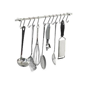 Sostenedor de herramienta utensilios colgando de Rack con 12 ganchos S libre para colgar