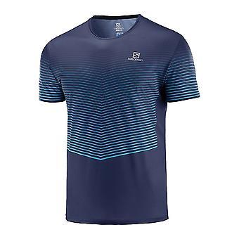 Salomon Sense Tee LC1150700 universal all year men t-shirt