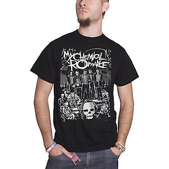 My Chemical Romance T Shirt The Black Parade Dead Logo Official Mens New Black
