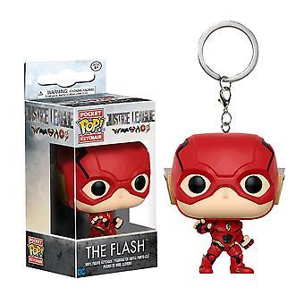 Justice League Movie Flash Pocket Pop! Keychain