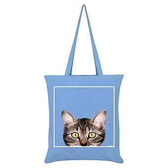 Inquisitive Creatures Kitten Tote Bag