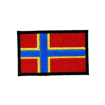 Patch Ecusson Brode Backpack Flag Flag Orkney Thermocollant Badge