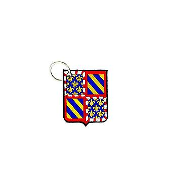 Cle Cles Clef Brode Patch Ecusson Flag Blason Pays France Burgundy