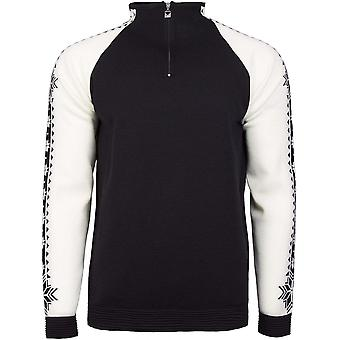 Dale of Norway Geilo Sweater - Black/Off White
