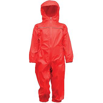 Regatta Boys Paddle Waterproof Reflective Light Rainsuit