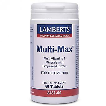 Lamberts Multi-Max Tablets 60 (8431-60)