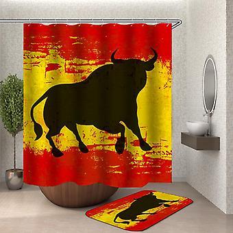Rideau espagnol de douche de taureau