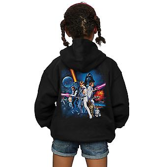 Star Wars Girls A New Hope Poster Zip Up Hoodie