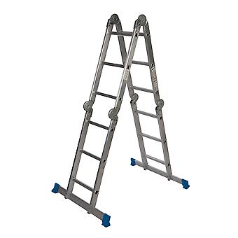 Multifunctionele ladder met platform-3,6 m 12-loopvlak