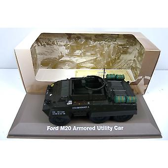 Ford M20 Armoured Car Diecast Model Vehicle