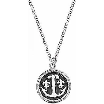Necklace and pendant Ted lapidus D46158N - necklace and pendant metal Rhodi black