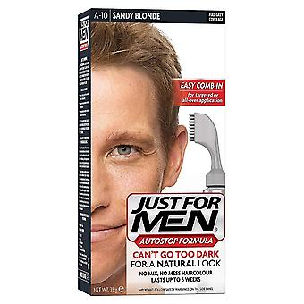 Just For Men 3 X Just For Men AutoStop Hair Colour - A10 Sandy Blonde
