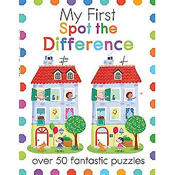 Min första plats skillnaden: över 50 fantastiska pussel (min första aktivitetsböcker)