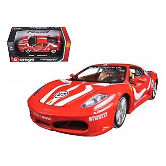 Ferrari F430 Fiorano #27 Red 1/24 Diecast Model Car par Bburago