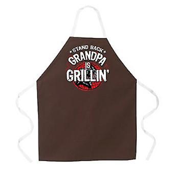Grand-père est tablier Grillin