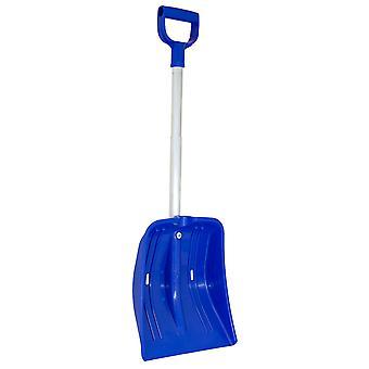 Charles Bentley blauw Sneeuw Shovel met uitschuifbaar handvat