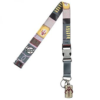 Boba Fett Suit-Up Lanyard