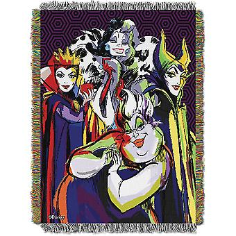 Woven Tapestry Throws - Villains - Villainous Group New 103389