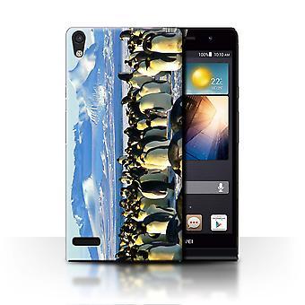 STUFF4 Case/Cover for Huawei Ascend P6/Emperor Penguins/Arctic Animals