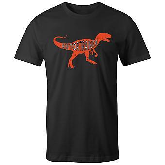 Boys Crew Neck Tee Short Sleeve Men's T Shirt- Raptor Trainer