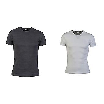 Absolute Apparel Mens Thermal Short Sleeve T-Shirt