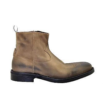 Golden Goose G35ms482a2 Hombres's Zapatillas de cuero marrón