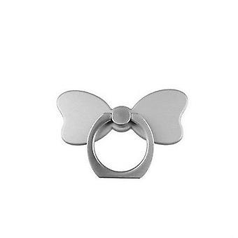 Universal bowknot 360 degree rotation desktop stand finger ring holder for xiaomi mobile phone