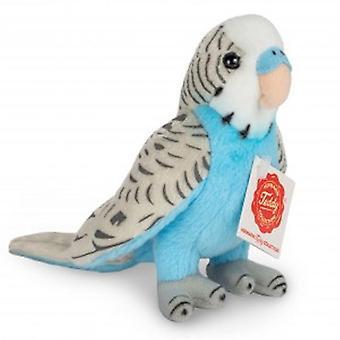 Hermann Teddy Parakeet Blue 13 cm